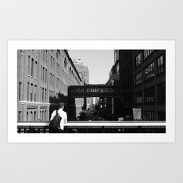 Over the High Line Art Print