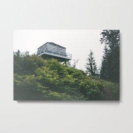 Oregon Fire Lookout Metal Print