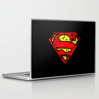 superman Laptop & iPad Skins featuring Superman by sambeawesome