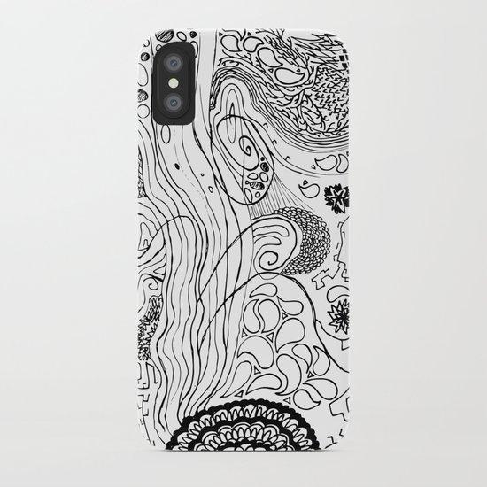Geometric Stream iPhone Case