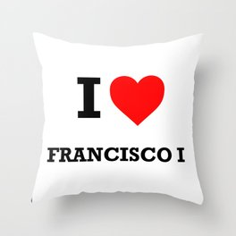 FRANCISCO I Throw Pillow