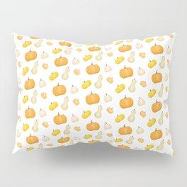Pumpkins & Squash Pattern Pillow Sham