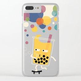 Bubbly ° • o  O Clear iPhone Case