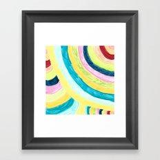 Colorways Framed Art Print