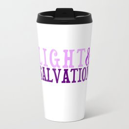 Christian Bible Scripture LIGHT AND SALVATION Travel Mug