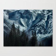 Foot of the Glacier  Canvas Print