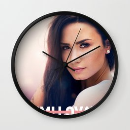 DEMI SIMPLY LOVATO COMPLICATED TOUR 2019 KRIPTON Wall Clock