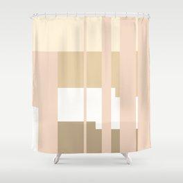 Mesa in Tan Shower Curtain