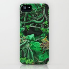 Deep in the Woods iPhone Case