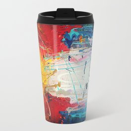 Colorado Abstract Flag #2 Travel Mug