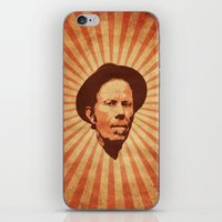 tom waits iPhone & iPod Skins featuring Waits by Durro