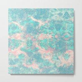 Ocean Foam In The Stars Metal Print