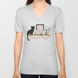 Magical Little Shelf Unisex V-Neck
