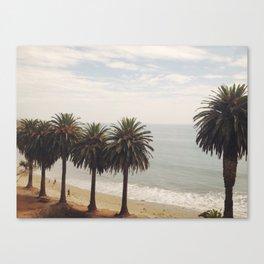 Palms on the Beach Canvas Print