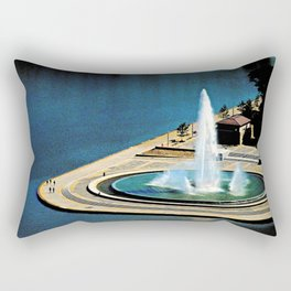 The Fountain at The Point Rectangular Pillow