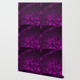 Future City Purple Wallpaper