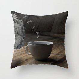 CoffeTime v1.5 Throw Pillow