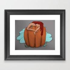 Red Headed Step Child Framed Art Print