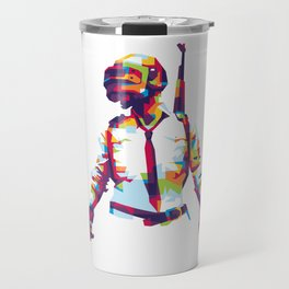PlayerUnknown's Battlegrounds PUBG WPAP Pop Art Travel Mug