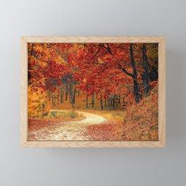 Autumn Landscape 1 | Paysage d'Automne 1 Framed Mini Art Print