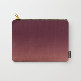 Maroon to Blush Carry-All Pouch