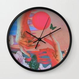 Strange Times Wall Clock