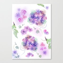 Frills and Spills Canvas Print