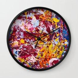 Neural carnival Wall Clock