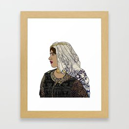 No Ban No Wall   Art Series - The Jewish Diaspora 003 Framed Art Print