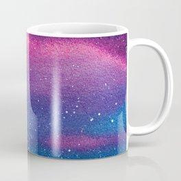 Blue and red milky way galaxy Coffee Mug