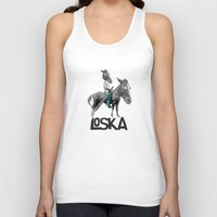warrior Tank Tops featuring Warrior by LOSKA