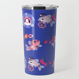 Cory cats on voyage Travel Mug