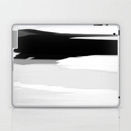 Soft Determination Black & White Laptop & iPad Skin