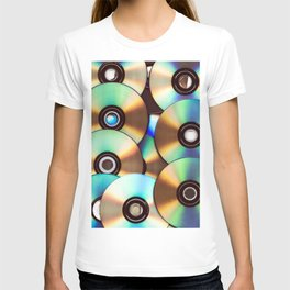CD Pattern T-shirt