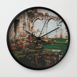 Ruins of Culross Wall Clock