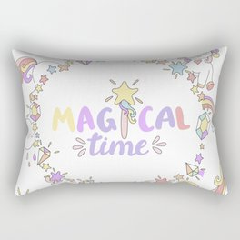 Magical Time Rectangular Pillow