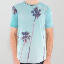 Palms Good Vibes All Over Graphic Tee