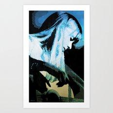 Joni Mitchell Watercolor Art Print