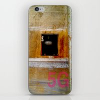 window iPhone & iPod Skins featuring WINDOW by  ECOLARTE