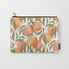 Peaches Carry-All Pouch