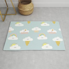 Happy Clouds Rug