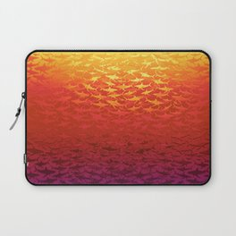Sharks At Sunset Laptop Sleeve