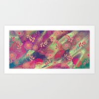 Floral Explosion 2 Art Print