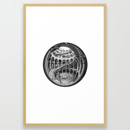Circular Fisheye #1 Framed Art Print
