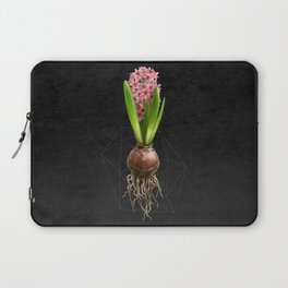 Pink Hyacinth Hydroponics (tryptic 3/3) Laptop Sleeve