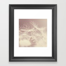 Fragile life Framed Art Print