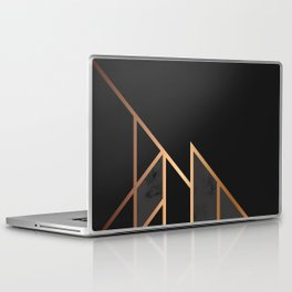 Black & Gold 035 Laptop & iPad Skin