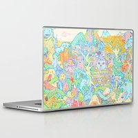 dragons Laptop & iPad Skins featuring Dragons by Nick Bright