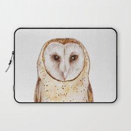Starwatcher (Tyto alba) Laptop Sleeve