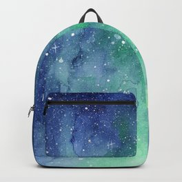 Galaxy Enchanted Forest Northern Lights Backpack